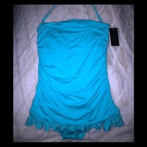 NWT Juicy one pice halter/bandeau swim suit- Small